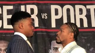 Errol Spence vs Shawn Porter FIRST FACE OFF!