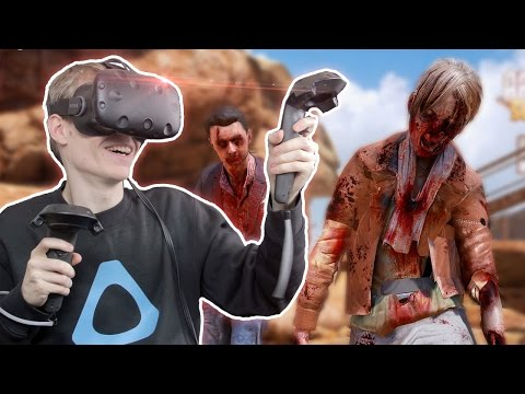 ZOMBIE APOCALYPSE IN VIRTUAL REALITY  | Arizona Sunshine VR (HTC Vive Gameplay)