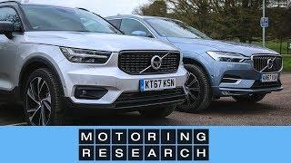 Volvo XC40 vs Volvo XC60 | Motoring Research