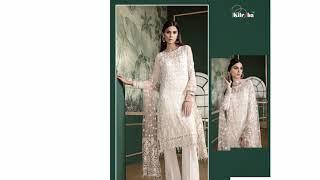 Kilruba Jannat White Luxury Collection   Kilruba 1001   Kilruba   Suryavansi creation pvt Ltd  