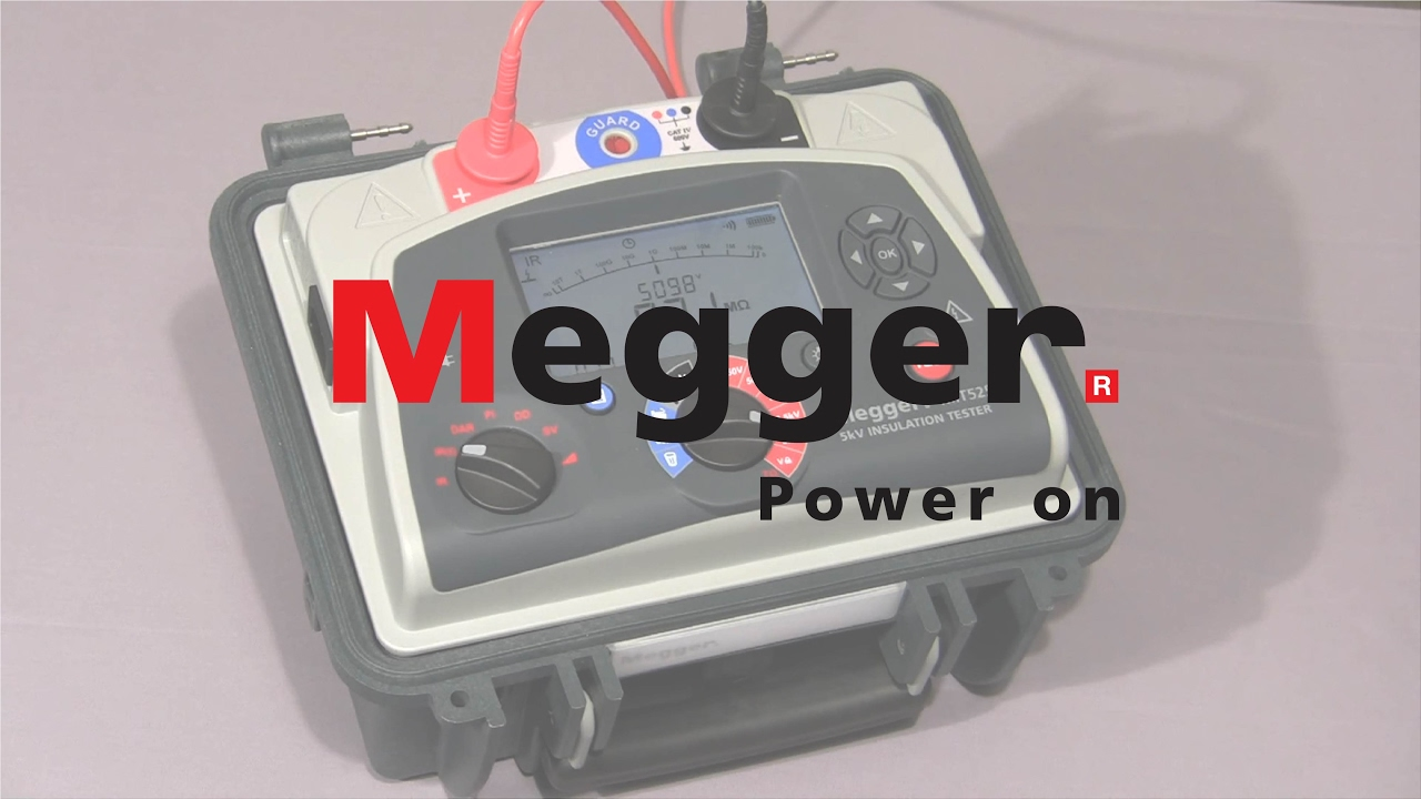 Electrical Test Equipment Power Station To Plug Megger Ac Circuit Experiment Box Training Basic Mit515 Mit525 Mit1025 Intro And Demonstration