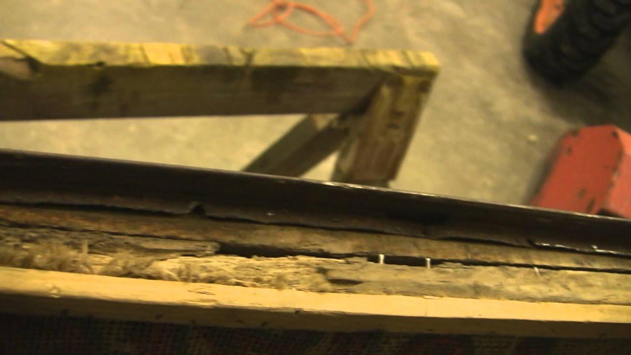 Old Chevy Truck >> Old chevy Door Repair - YouTube