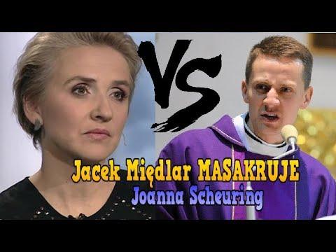 Jacek Międlar MASAKRUJE Joanna Scheuring (Zabawne Momenty)