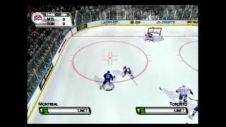 NHL 2005 (PLAYSTATION 2) Montreal vs Toronto