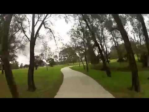 Cycling Around Brisbane Parks / Australia