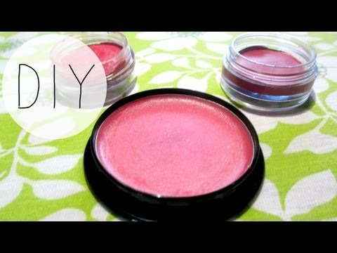 DIY Cream Blush (2 ways)