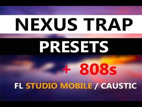 50 Nexus Trap Presets + 808s for FL Studio Mobile & Caustic 3
