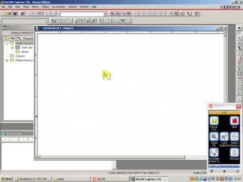 OrCAD schematic capture exmaple - YouTube