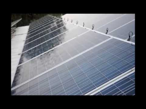 Automatic Cleaning System For Solar Panels Youtube