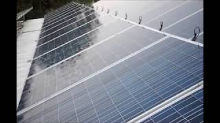 Automatic Cleaning System for Solar Panels