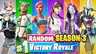 The *RANDOM* SEASON 3 Challenge in Fortnite!