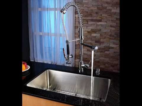 faucets kitchen faucets sink single handle kraus kpf1602 - Kraus Faucets