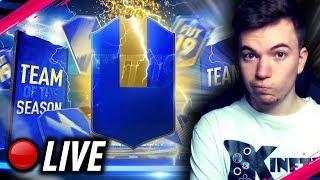 ????NARESZCIE TOTSY!!! /ft. SBC, Drafty, Wyzwania...   FIFA 19 TOTS Live - Na żywo