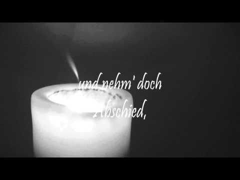 Abschied von dir, Trauerlied zur Beerdigung, Trauerfeier Lied über Tod, Lieder von Thomas Koppe
