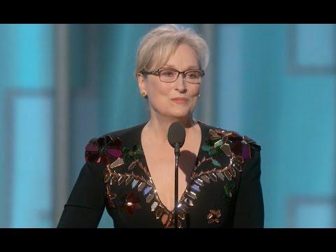 Meryl Streep's Cecil B. deMille  Award Acceptance Speech