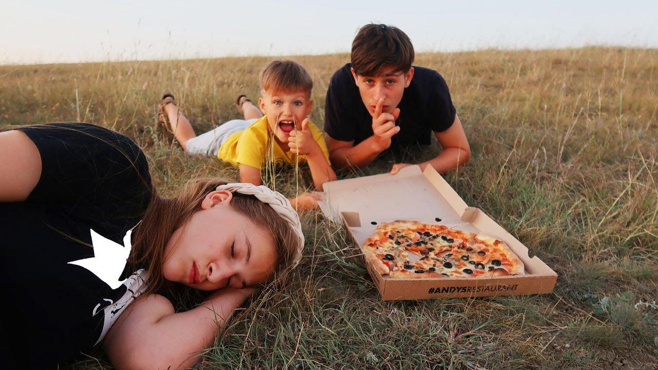 PRIETENII sau PIZZA / ISTORIE amuzantă
