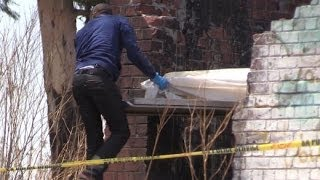 Police have opened a case of murder after two children were found dead in an abandoned building in Katlehong. Their mother is recovering in hospital. EWN's Mia Lindeque was on the scene.