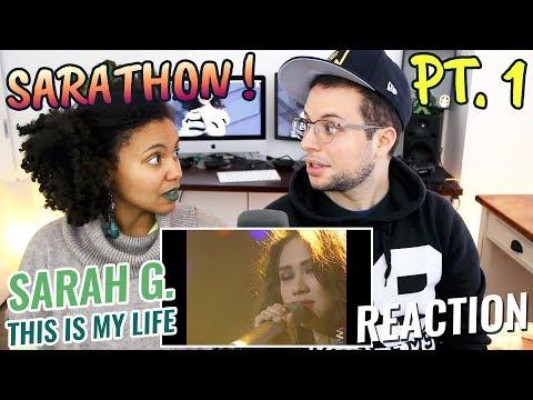 Sarah Geronimo  This Is My Life  Sarathon pt 1  REACTION