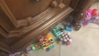 Our LOL doll everything shop made all by myself
