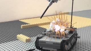 Epic Lego Tank Battle