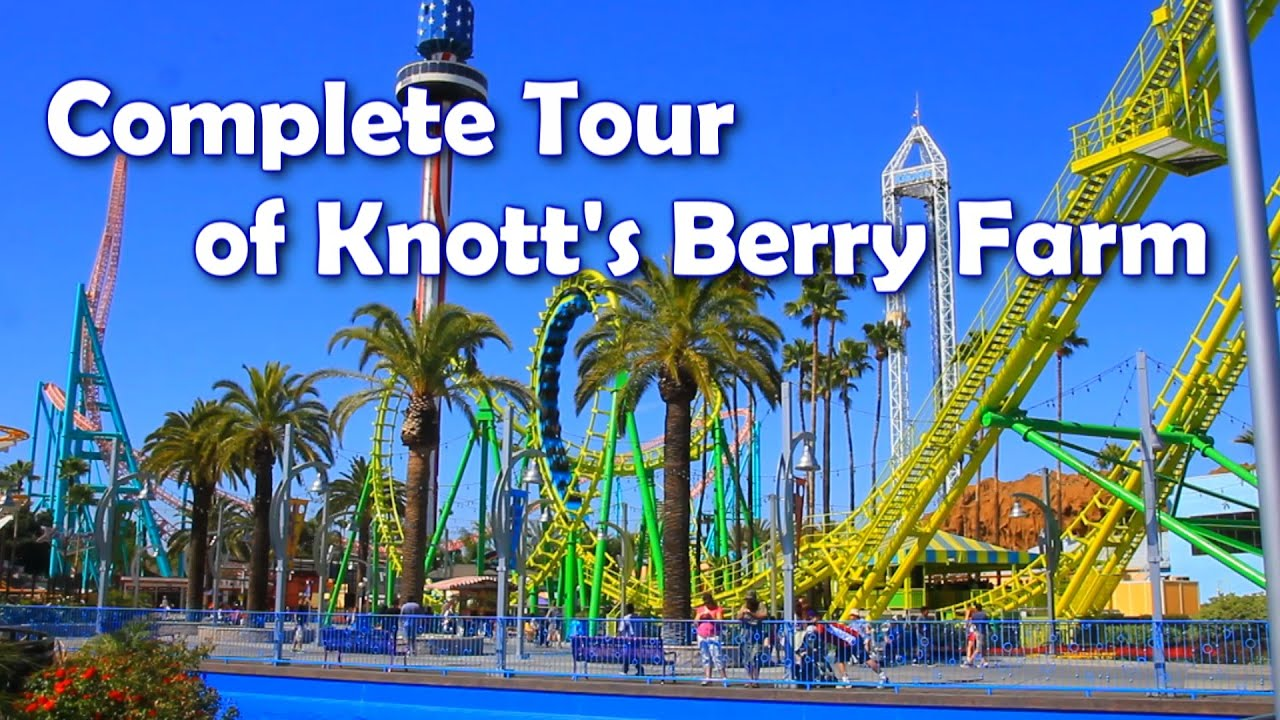 Hd Complete Tour Of Knott S Berry Farm America S 1st Theme Park Youtube