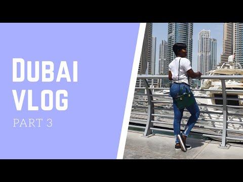 VLOG : DUBAI 2019   IMG WORLD OF ADVENTURES   PART 3   GEORGINA OKAKOSO