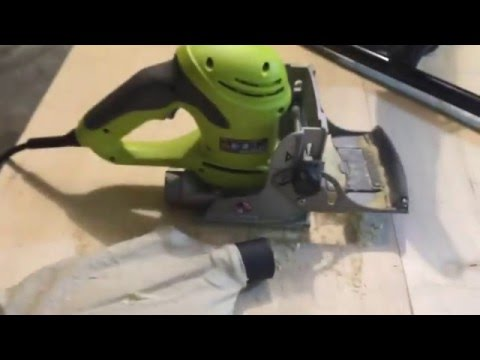 My Problems with the Ryobi Biscuit Joiner