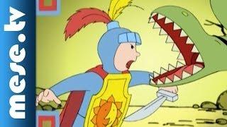 Gryllus Vilmos: Maszkabál - Lovag és sárkány (gyerekdal, mese, rajzfilm gyerekeknek)