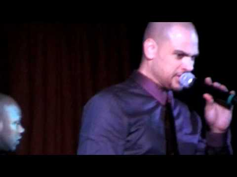 R&B singer Chico Debarge's NYE 2011 Show + Sings Switch, D'Angelo and DeBarge Tunes