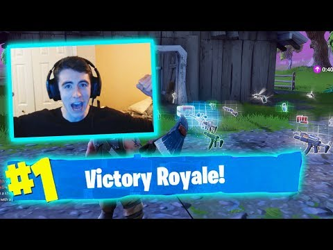 MY 1ST WIN ON VIDEO!! ( Fortnite Battle Royale Gameplay )