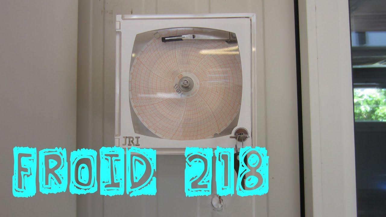 Froid218 enregistreur autonome de temp rature disque for Temperature chambre froide