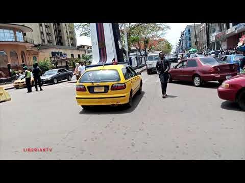 2020 Driving in Central Monrovia, Liberia's Capital (HD Video)