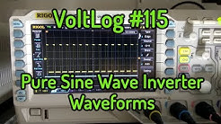 Voltlog #115 - Pure Sine Wave Inverter Circuit Waveforms