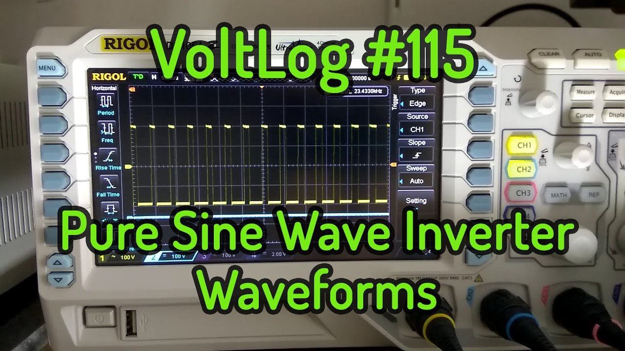 Voltlog 115 Pure Sine Wave Inverter Circuit Waveforms Youtube Homemade Designs Just For You