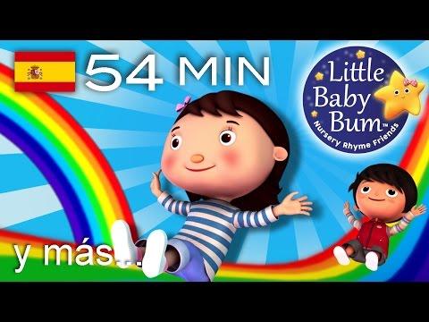 Los colores del arco iris | Y muchas más canciones infantiles | ¡LittleBabyBum!