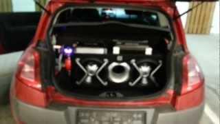 Car Audio JBL GT5 2402 BR + GROUND ZERO 2.500TX - SONY CDX-GT650UI  in HD track 1