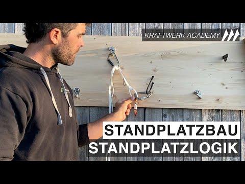 Standplatzbau - Standplatzlogik