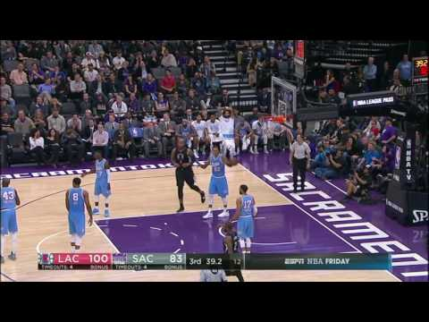 Los Angeles Clippers vs Sacramento Kings | November 18, 2016 | NBA 2016-17 Season