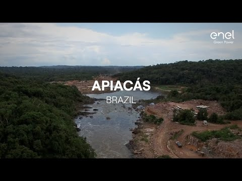 Enel Green Power's power plant in the world: Apiacás, Brazil