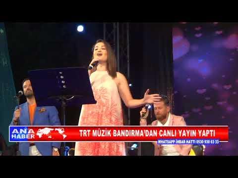 TRT MÜZİK BANDIRMA'DAN CANLI YAYIN YAPTI