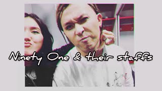 Ninety One Their Staffs Cute And Funny Moments 1 QPOP 2018