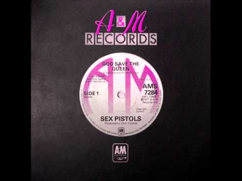 A and M records - God Save The Queen - the sex pilots