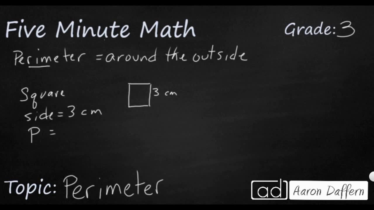 3rd Grade Math - Perimeter