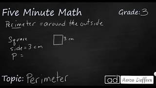 3rd Grade Math Perimeter