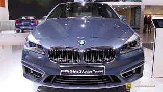 2015 BMW 2-Series 220d xDrive Active Tourer - Exterior, Interior Walkaround - 2014 Paris Auto Show