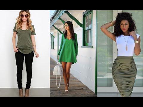 Vistiendo en color verde este 2018 tendencia y moda 2018 for Tendencia de color de moda