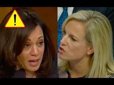 Kamala Harris Gets Pissed When Kirstjen Nielsen Tells Her She Was Referred to DOJ for Criminal Acts!