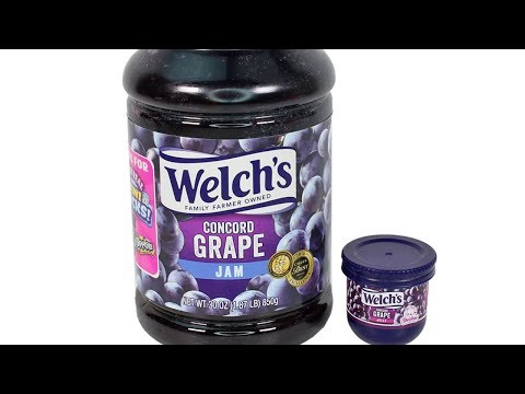Shopkins Oh So Real Mini Packs Welch's Grape Jam Unboxing Toy Review