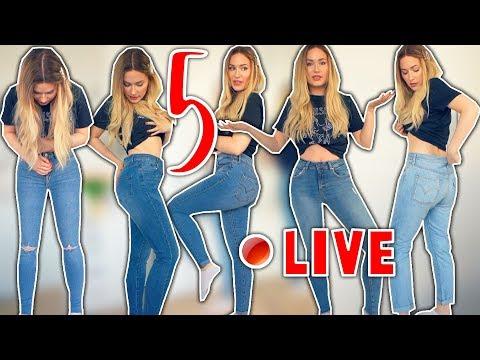 Ich Teste 5 Verschiedene Jeans Hosen In Größe 36 Von Amazon