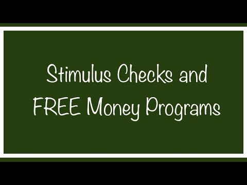 Stimulus Check & Free Money Assistance Programs for SSI, SSDI, Social Security – Thursday, August 13